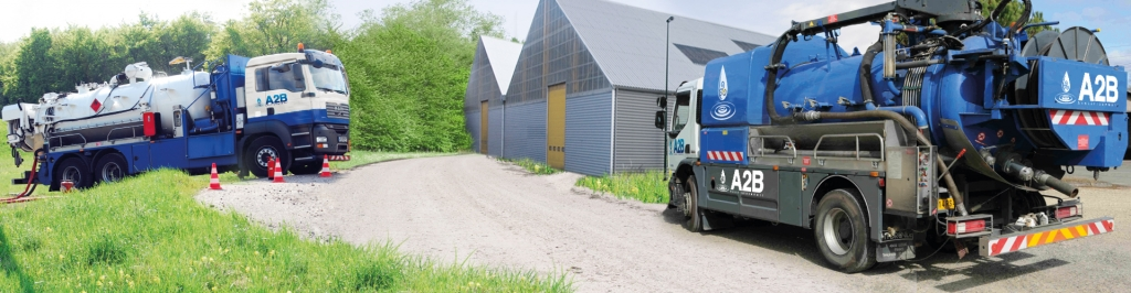 CAMION ASSAINISSEMENT A2B Maintenance industrielle